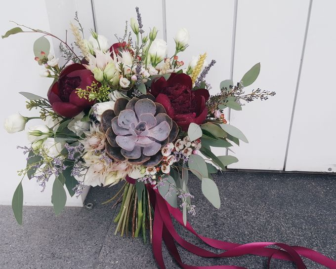 Bridal Bouquets by Ever & Blue Floral Design - 008