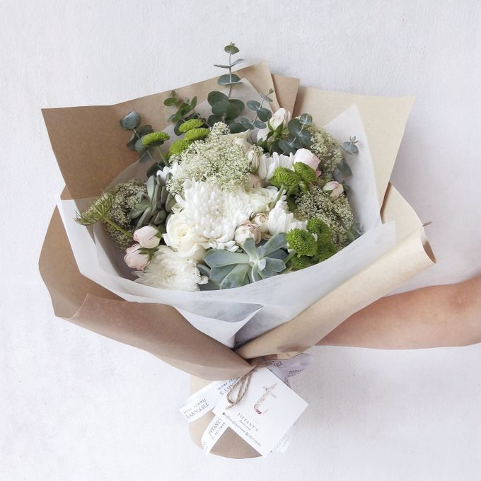 Gift Bouquet by Tiffany's Flower Room - 019