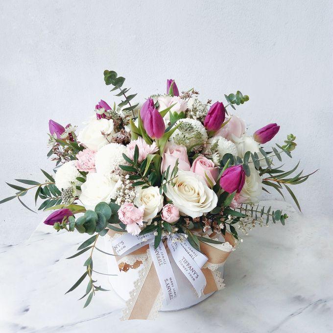 Vase Arrangement by Tiffany's Flower Room - 011