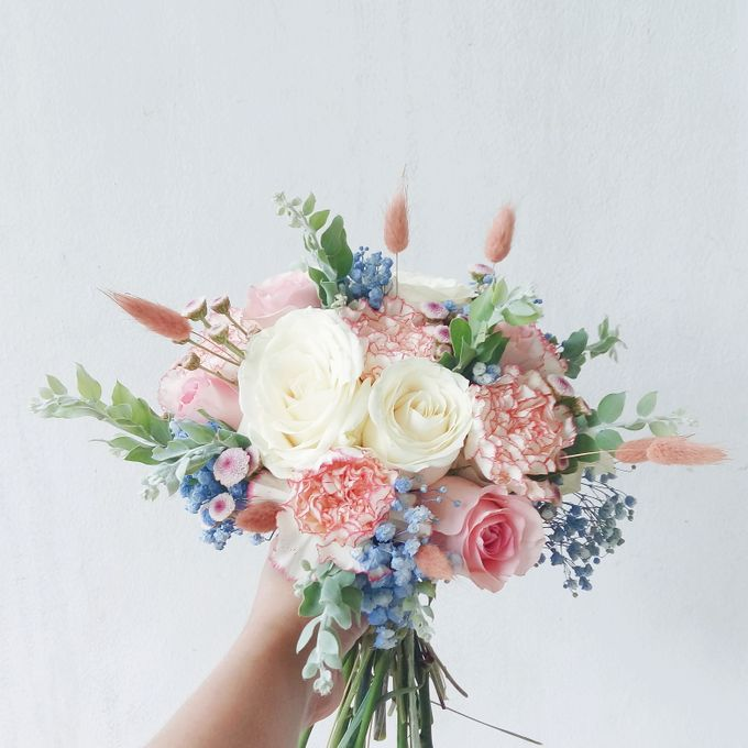 Bridesmaid Bouquet by Tiffany's Flower Room - 007