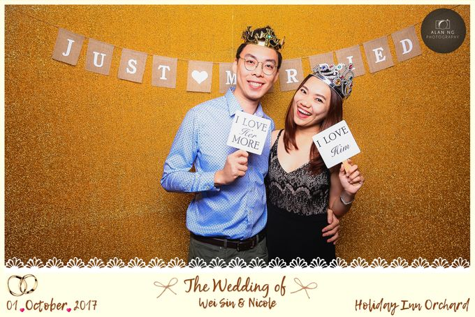 Wedding Photobooth - Weisin and Nicole by Alan Ng Photography - 001