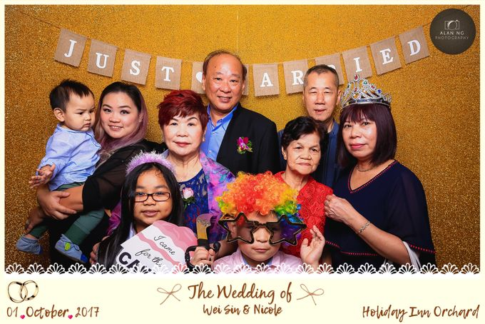 Wedding Photobooth - Weisin and Nicole by Alan Ng Photography - 002