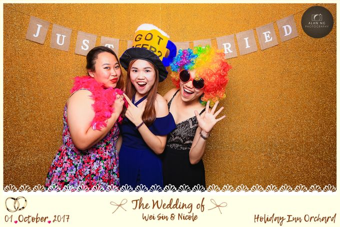 Wedding Photobooth - Weisin and Nicole by Alan Ng Photography - 003