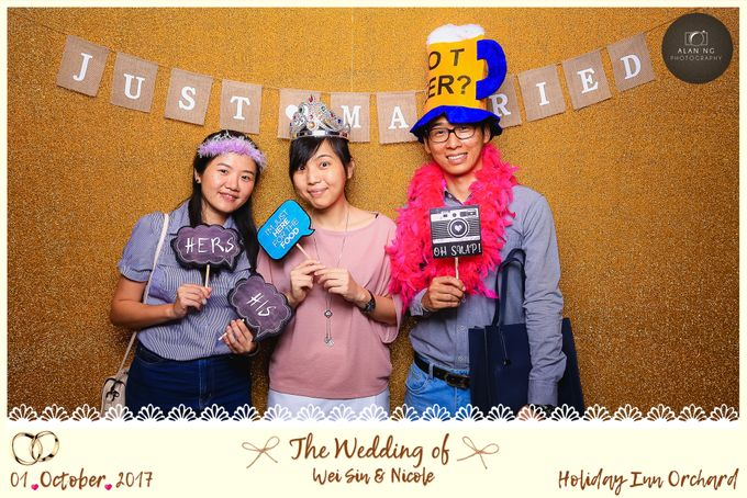 Wedding Photobooth - Weisin and Nicole by Alan Ng Photography - 004