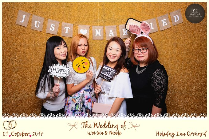 Wedding Photobooth - Weisin and Nicole by Alan Ng Photography - 005