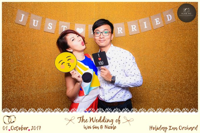 Wedding Photobooth - Weisin and Nicole by Alan Ng Photography - 006