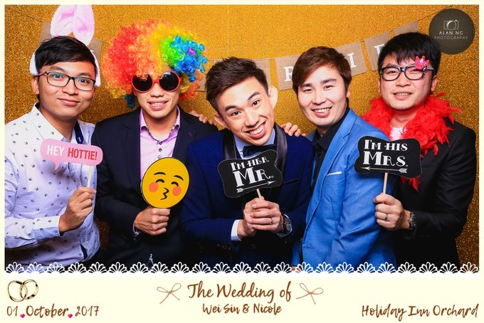 Wedding Photobooth - Weisin and Nicole by Alan Ng Photography - 007