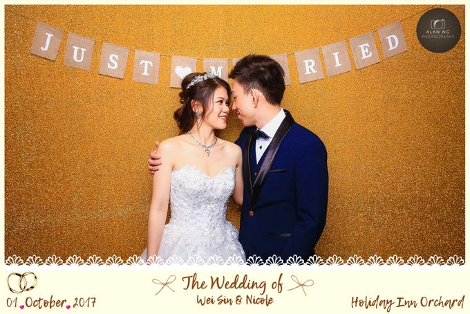 Wedding Photobooth - Weisin and Nicole by Alan Ng Photography - 008