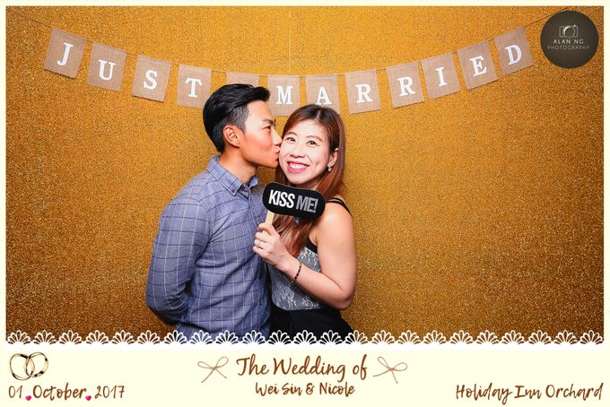Wedding Photobooth - Weisin and Nicole by Alan Ng Photography - 009