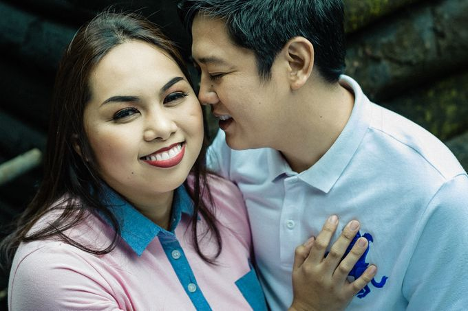 Engagement Session | Elmer and Bernadette by Rainwalker Photography - 015