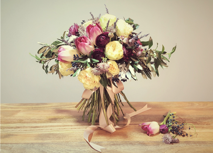 Styled Shoot - A Vintage Affair by Fleurish Floral Design - 003