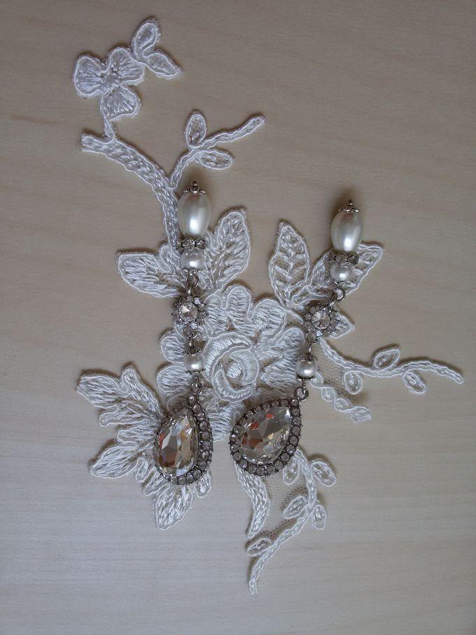 BrIdal Jewelry-Bridal Earrings by Pamela Falli - 005