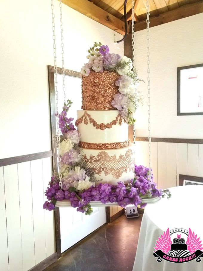 Wedding and Grooms' Cakes by Cakes ROCK!!! - 034