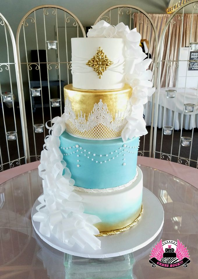 Wedding and Grooms' Cakes by Cakes ROCK!!! - 037