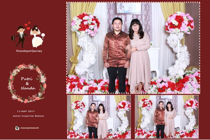 The Wedding of Nanda & Putri by Gester Bridal & Salon Smart Hair - 001