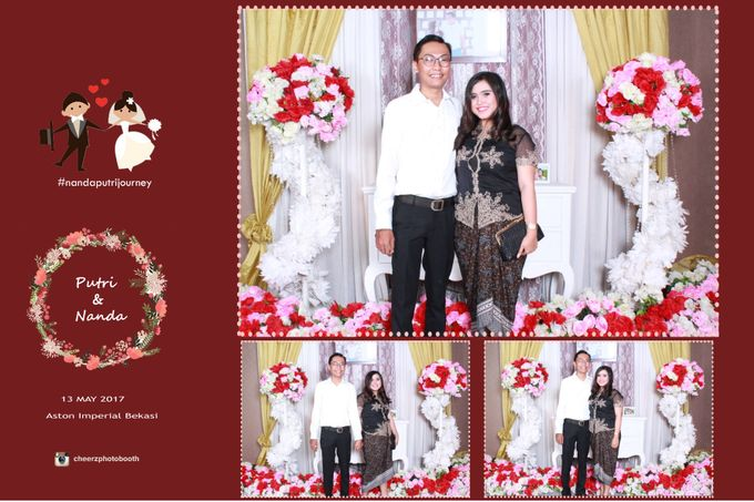 The Wedding of Nanda & Putri by Gester Bridal & Salon Smart Hair - 002