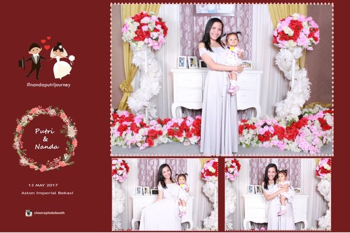 The Wedding of Nanda & Putri by Gester Bridal & Salon Smart Hair - 003