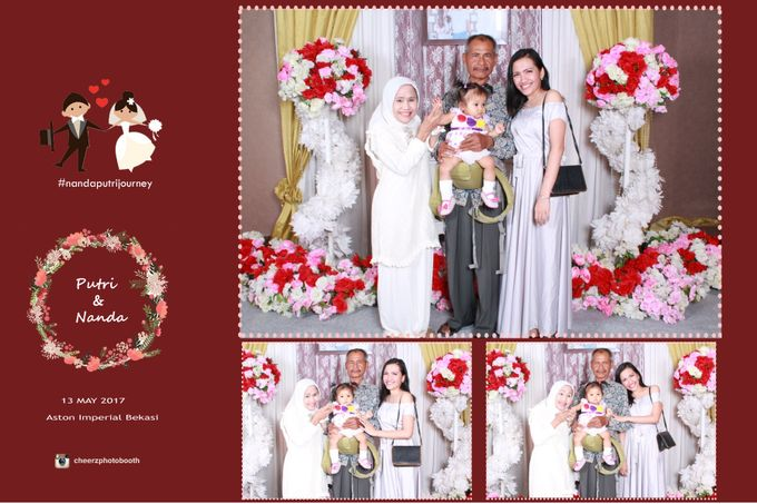 The Wedding of Nanda & Putri by Gester Bridal & Salon Smart Hair - 004