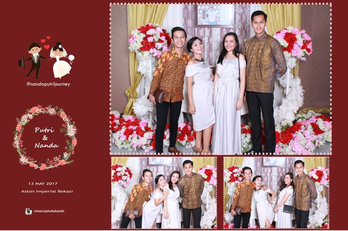 The Wedding of Nanda & Putri by Gester Bridal & Salon Smart Hair - 005