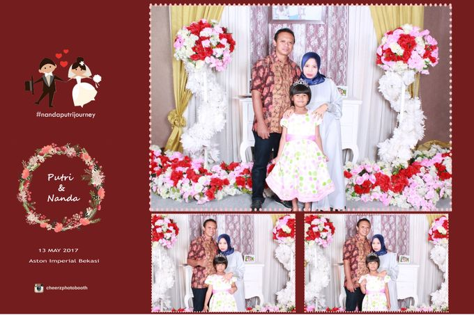 The Wedding of Nanda & Putri by Gester Bridal & Salon Smart Hair - 006