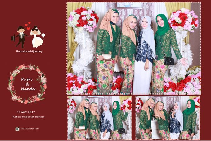 The Wedding of Nanda & Putri by Gester Bridal & Salon Smart Hair - 010