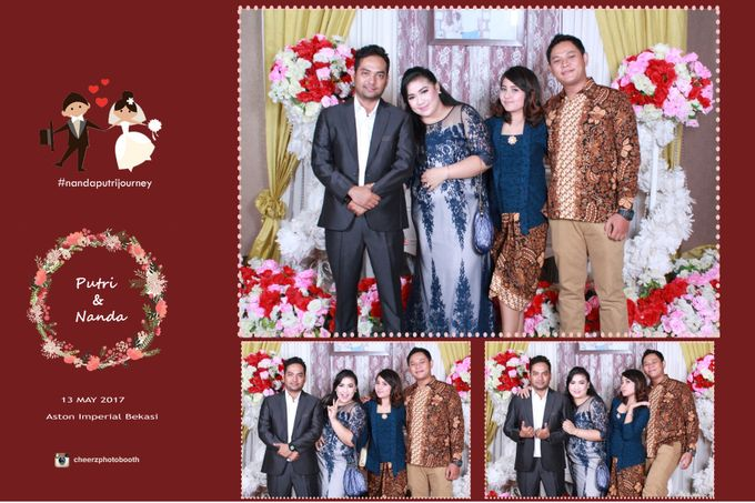 The Wedding of Nanda & Putri by Gester Bridal & Salon Smart Hair - 012