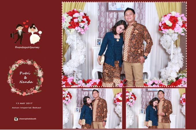 The Wedding of Nanda & Putri by Gester Bridal & Salon Smart Hair - 013