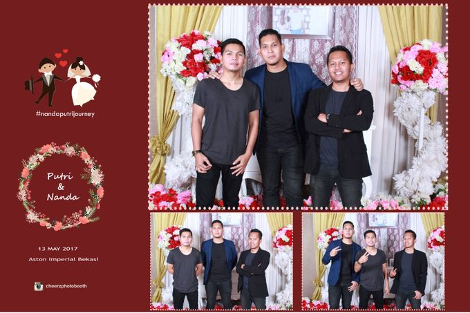 The Wedding of Nanda & Putri by Gester Bridal & Salon Smart Hair - 015