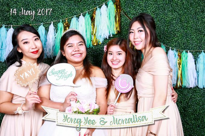 Yong Yee & Monalisa - Wedding Photo Booth by The Lair Weddings Candy Bar - 002