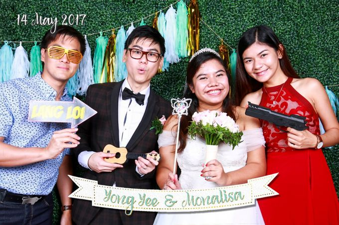 Yong Yee & Monalisa - Wedding Photo Booth by The Lair Weddings Candy Bar - 004