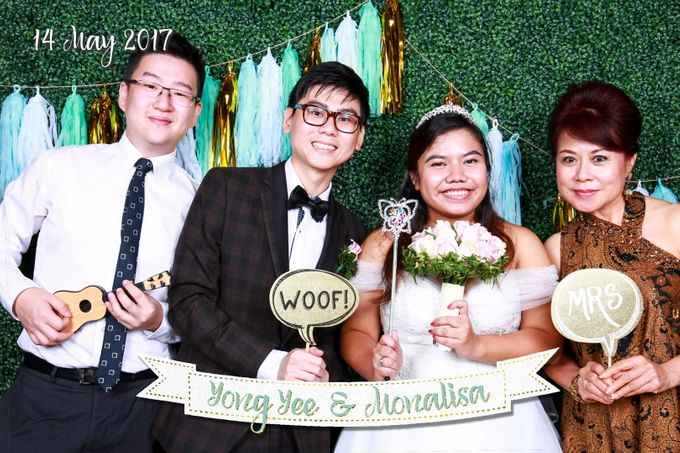 Yong Yee & Monalisa - Wedding Photo Booth by The Lair Weddings Candy Bar - 005