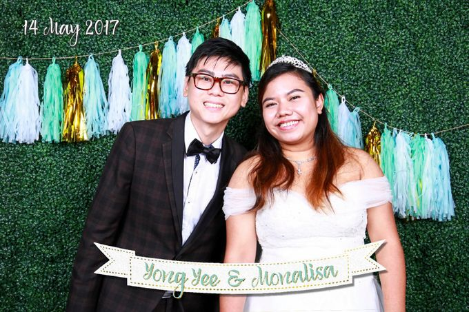 Yong Yee & Monalisa - Wedding Photo Booth by The Lair Weddings Candy Bar - 003