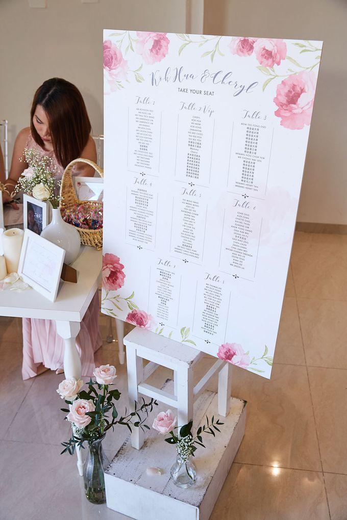 Kok Hua and Cheryl Wedding by Megu Weddings - 016