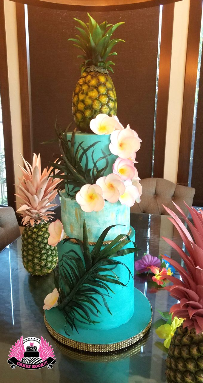 Wedding and Grooms' Cakes by Cakes ROCK!!! - 039
