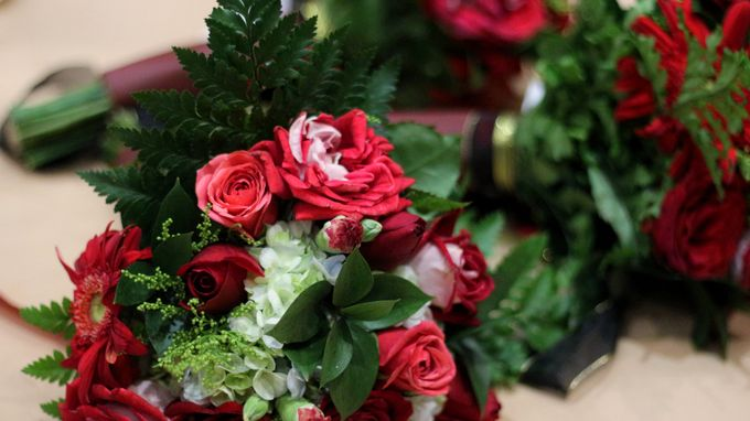 Mel Bridesmaids by Garland Galore Flower Shop - 022