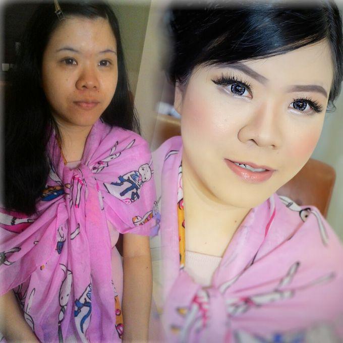 Makeup Bridesmaid by VidJei Makeup - 003