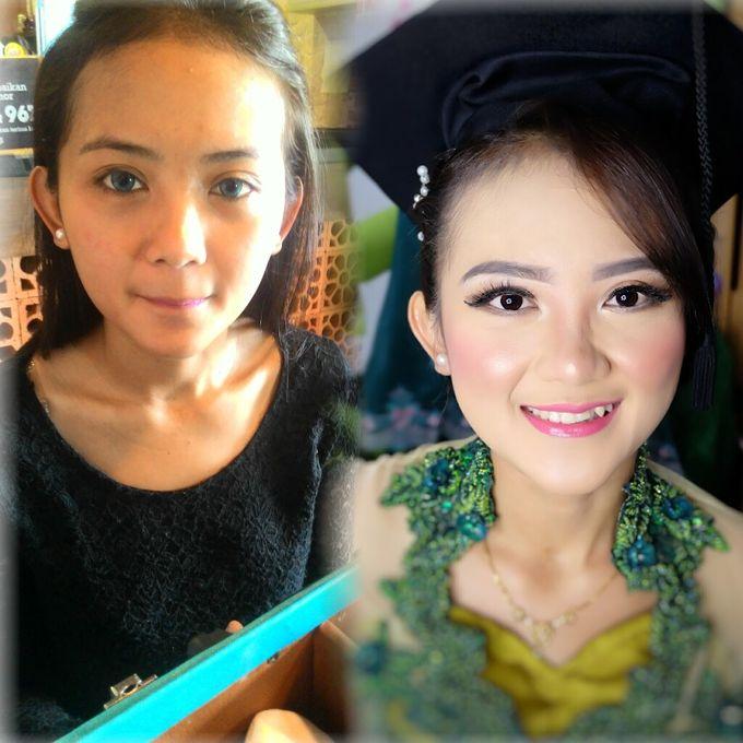 Graduation makeup by VidJei Makeup - 004