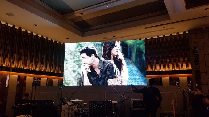 LED Screen - Raisa & Hamish Wedding by Chroma Project - 002