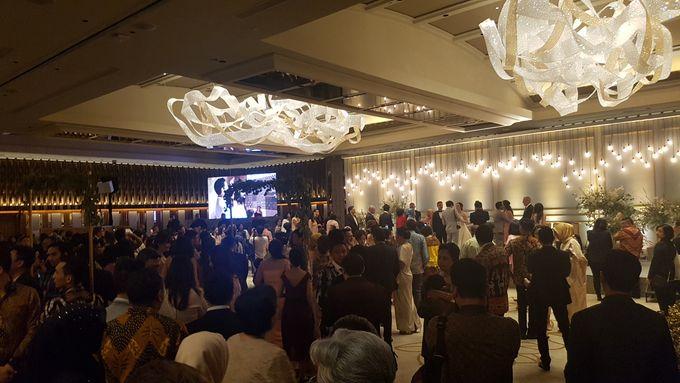 LED Screen - Raisa & Hamish Wedding by Chroma Project - 007