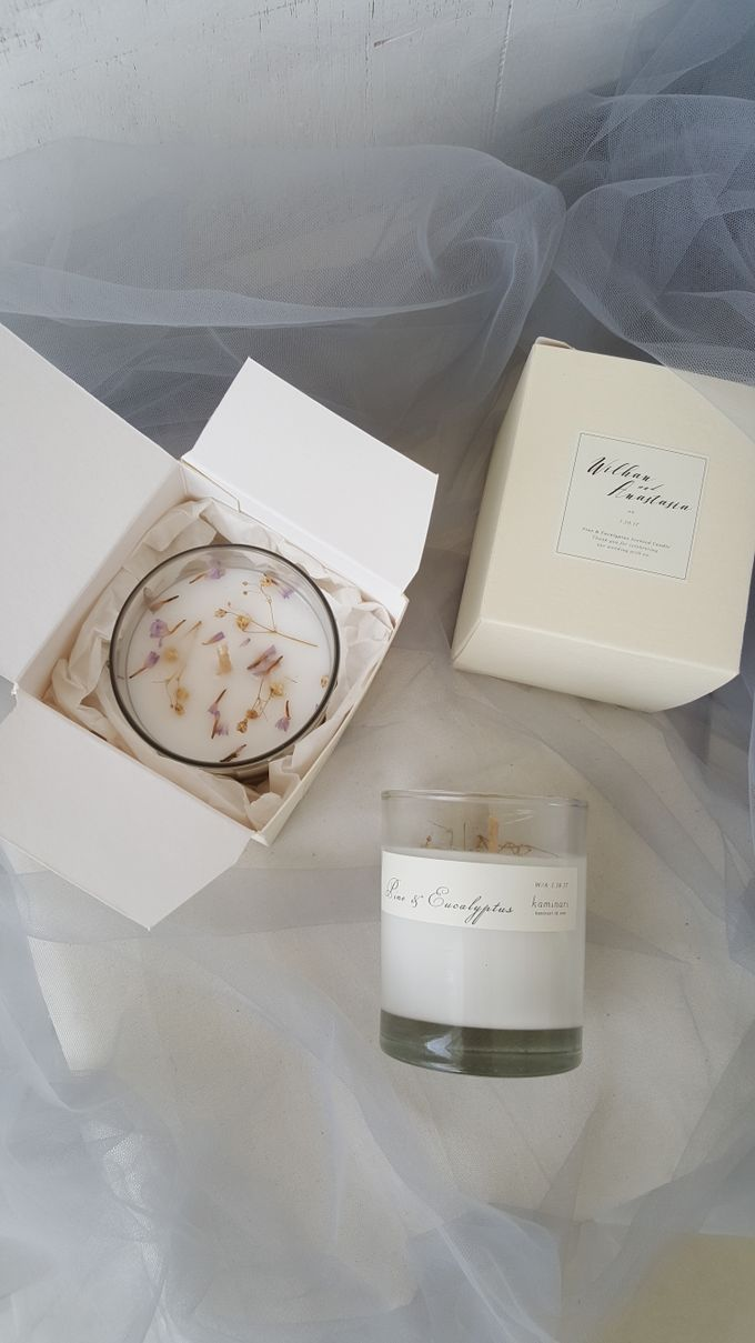 Custom Size Votive Candle | Packaging: Soft Box by Kaminari - 001
