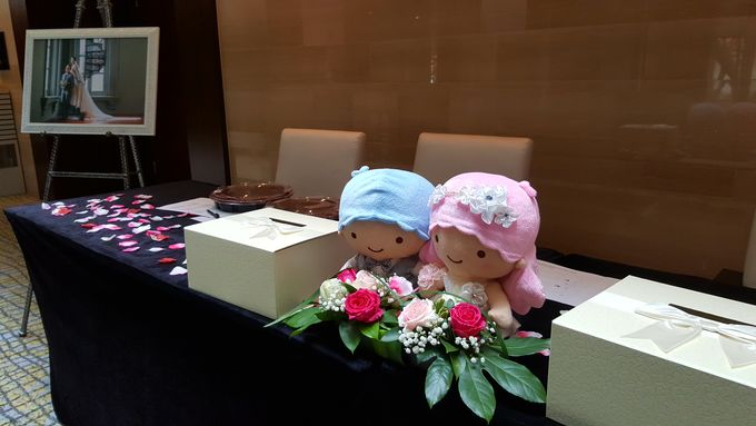 Sweetiest Marriage to Kelvin and Peina by Carlton Hotel Singapore - 003
