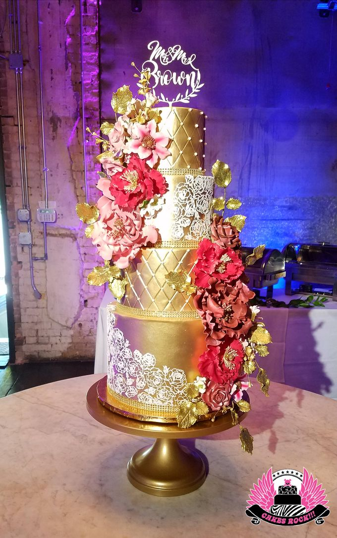 Wedding and Grooms' Cakes by Cakes ROCK!!! - 033