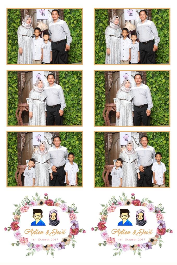 Adien & Dewi by Twotone Photobooth - 002