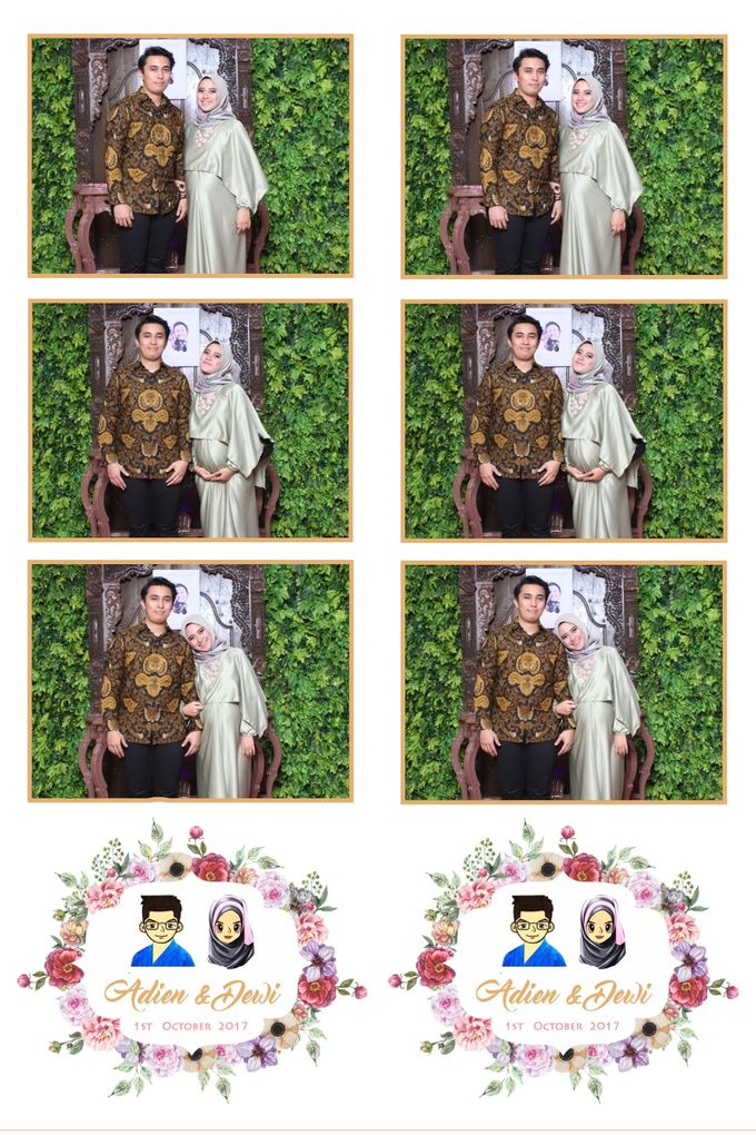 Adien & Dewi by Twotone Photobooth - 003