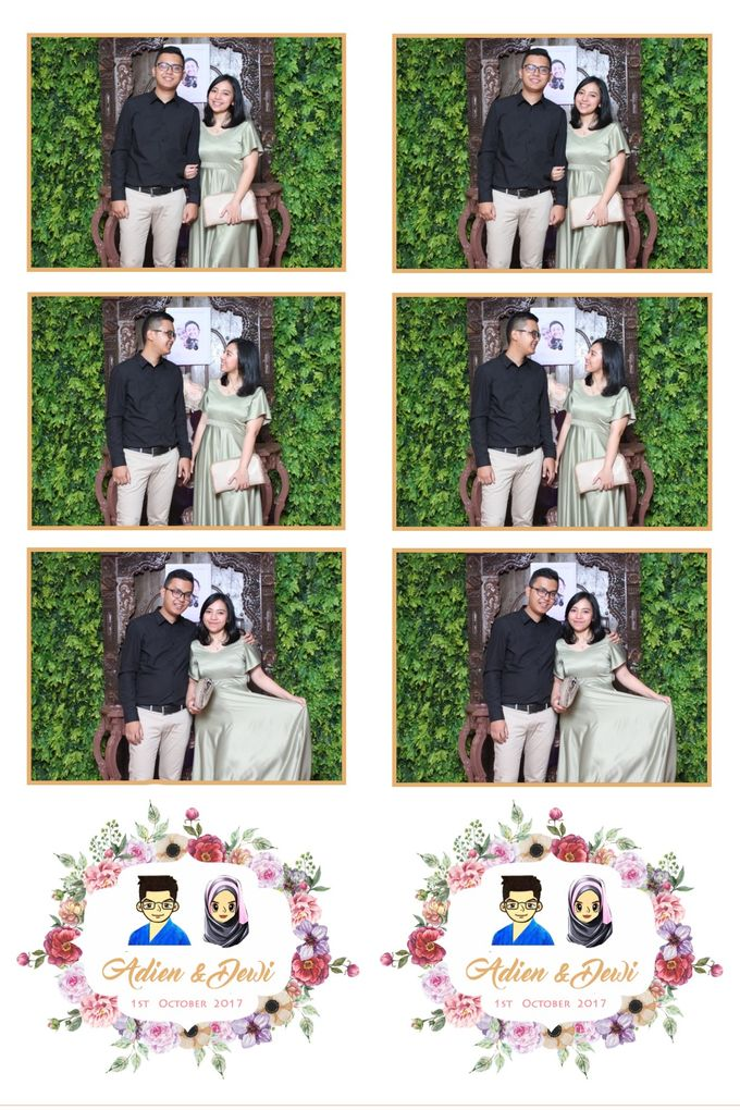 Adien & Dewi by Twotone Photobooth - 004