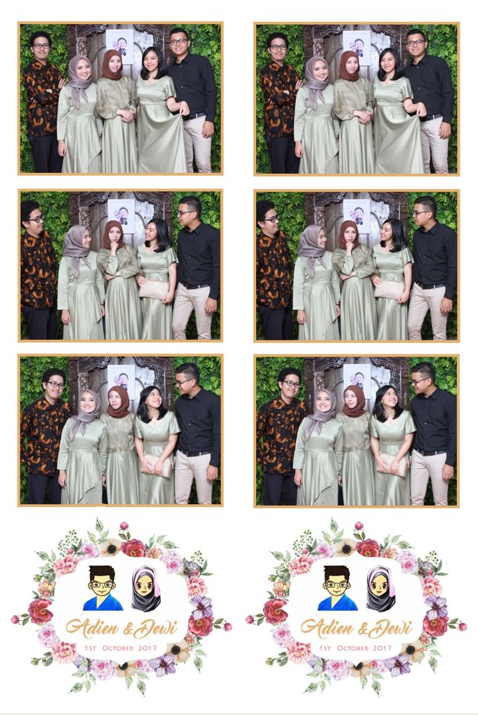 Adien & Dewi by Twotone Photobooth - 005