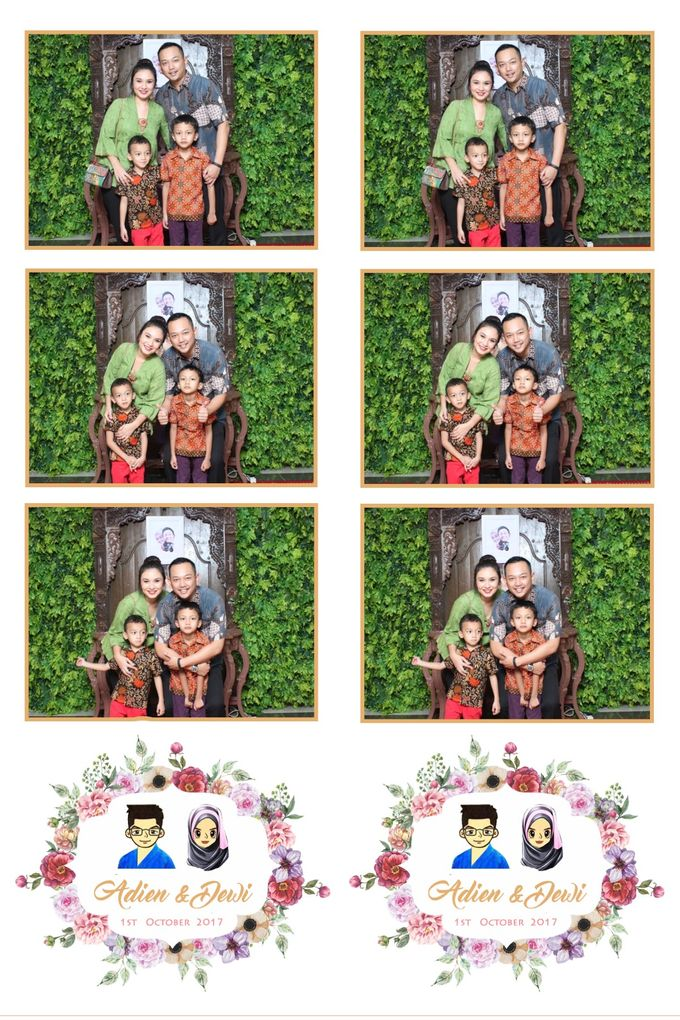 Adien & Dewi by Twotone Photobooth - 001