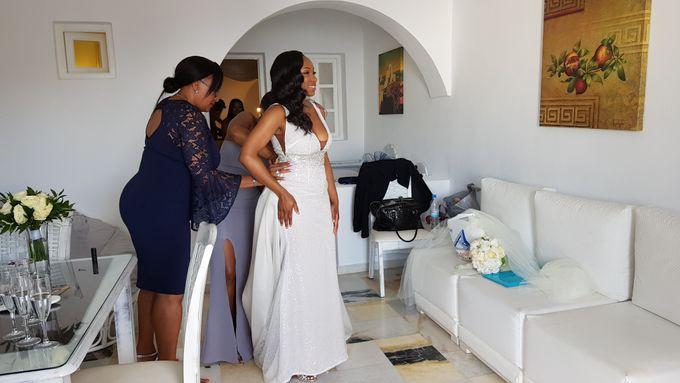 Destination Wedding in Santorini by Designer Wedding Planner - 007