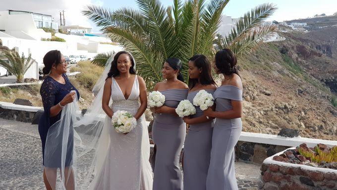 Destination Wedding in Santorini by Designer Wedding Planner - 010