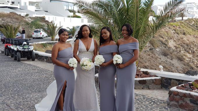 Destination Wedding in Santorini by Designer Wedding Planner - 002